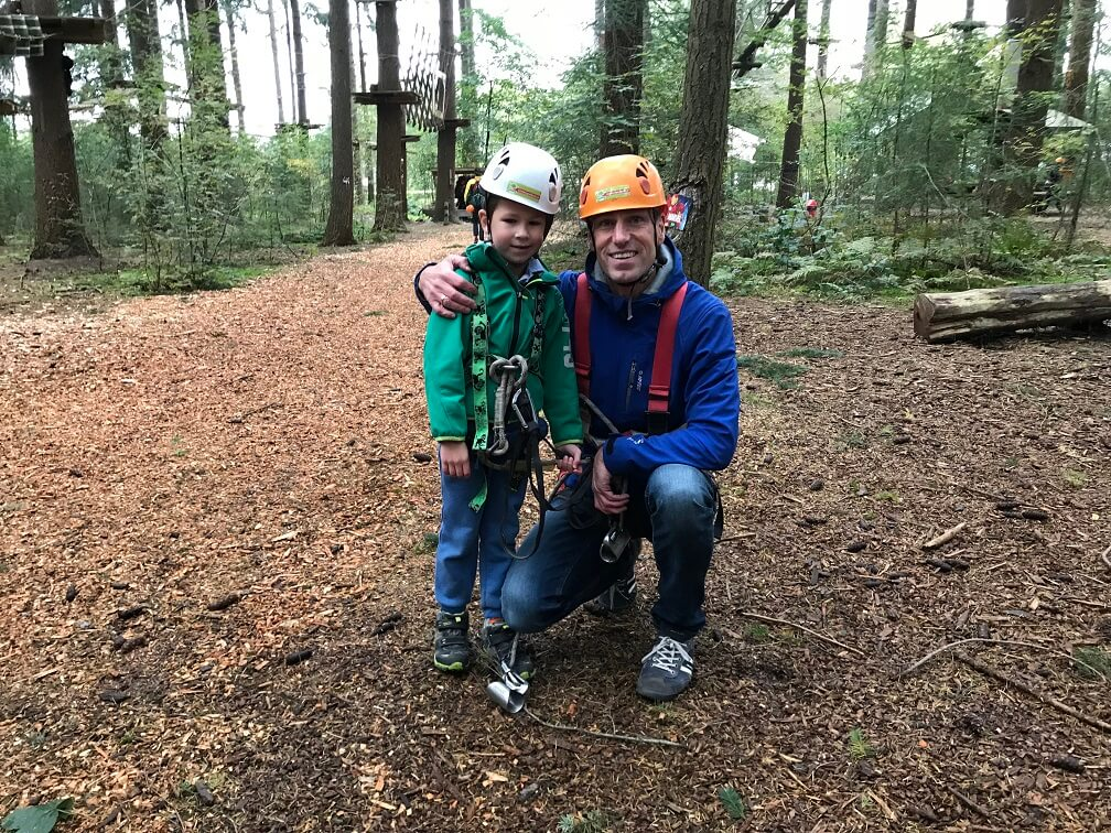 Vader-zoon weekend op de Veluwe