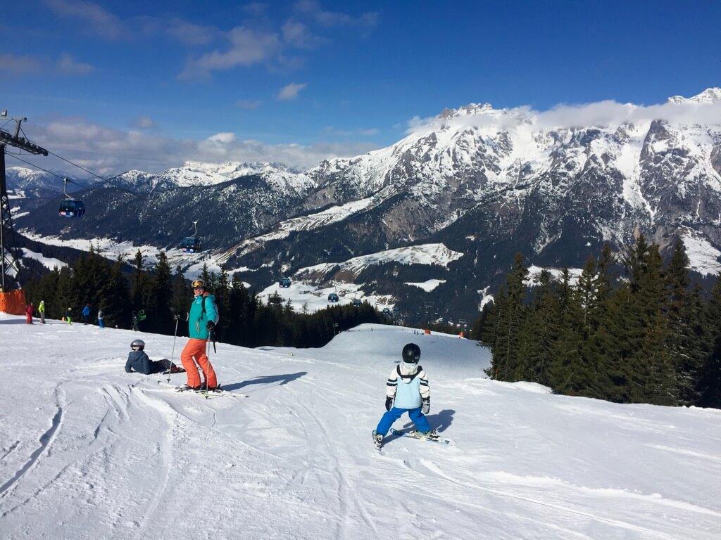 Wintersport- leogang - Skicircus - Vaders op Reis