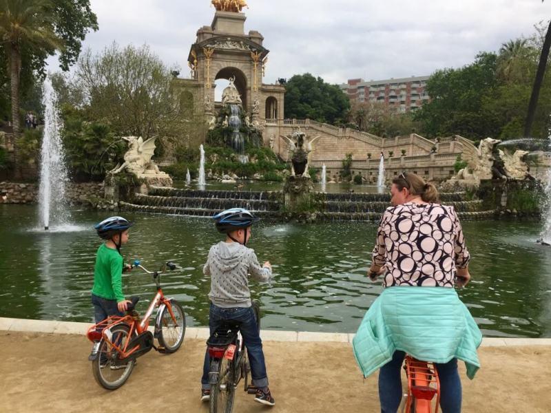 Costa Daurada - vaders op Reis - Barcelona - Meivakantie - Baja Bikes