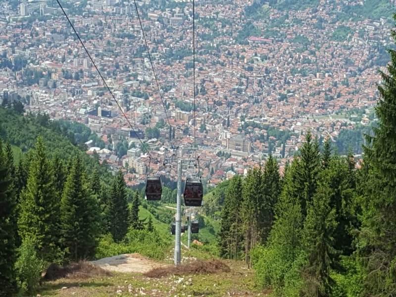 Citytrip Sarajevo - Bosnie - Vaders op Reis