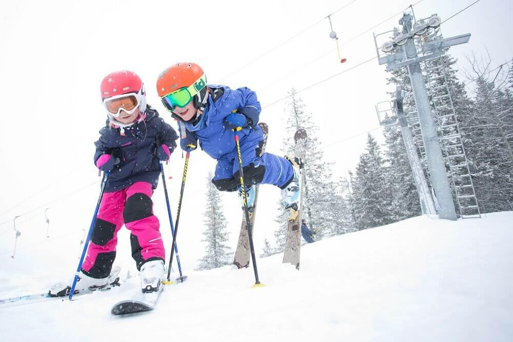 Wintersport in Geilo Noorwegen