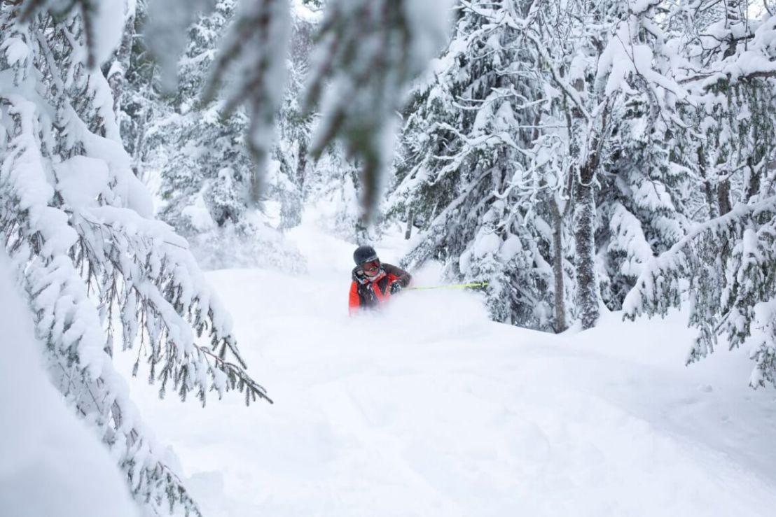 Skien in Geilo Noorwegen