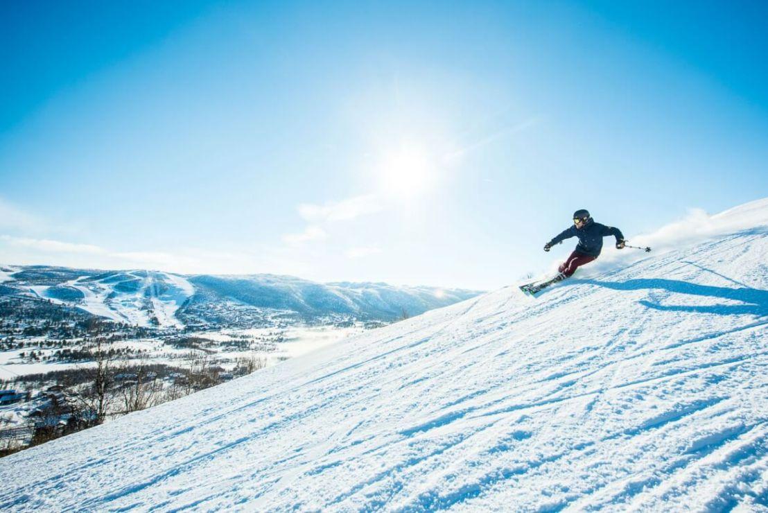 Skiën in Geilo Noorwegen