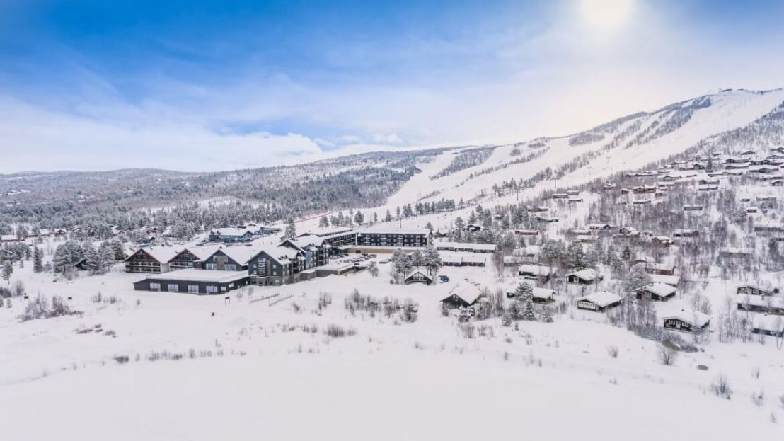 Wintersport in Geilo Noorwegen
