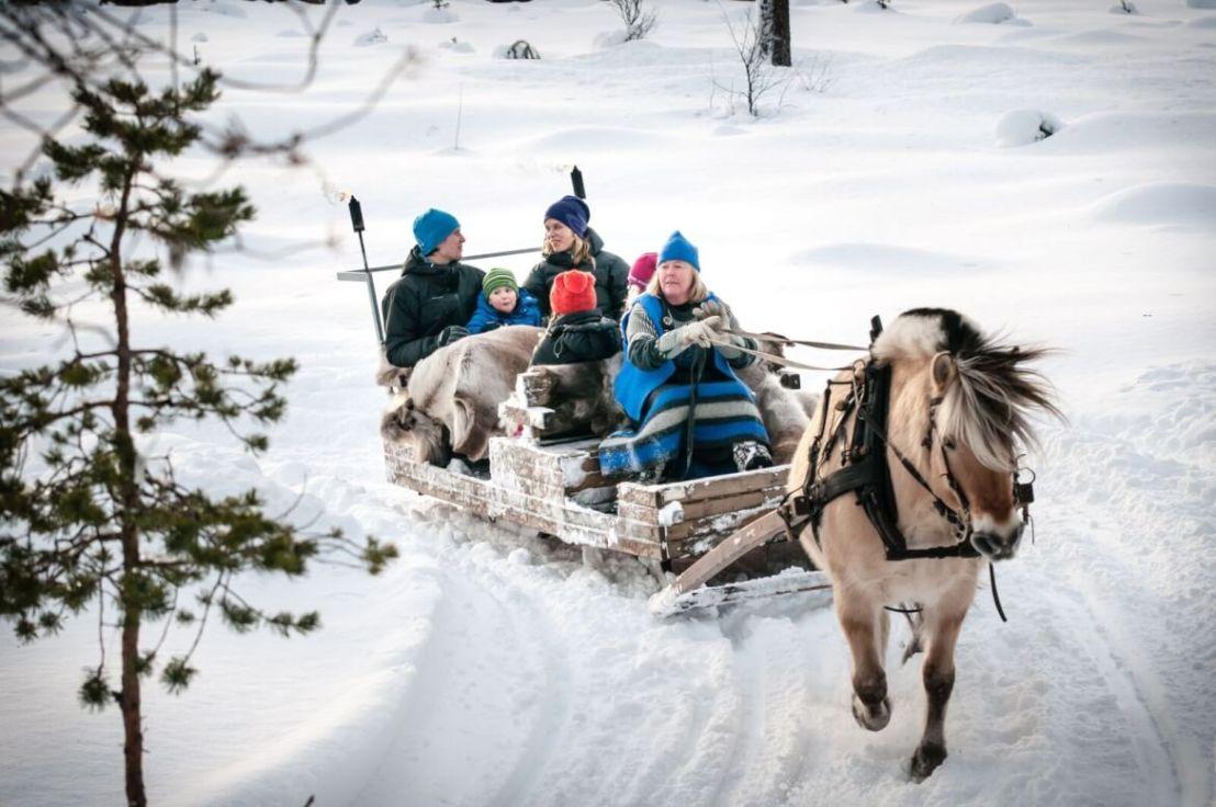 Paardenslee in Geilo Noorwegen