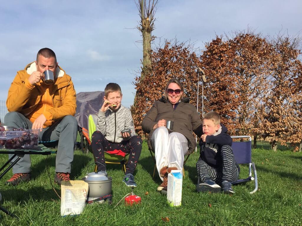 Fietsvakantie - Bunnik - Kamperen - Vaders op Reis