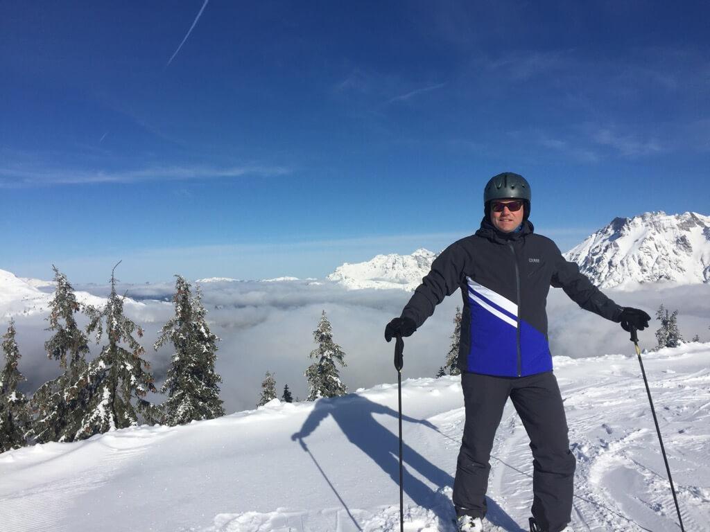 Leogang - Wintersport - Colmar - Steinbergbahn - Vaders op Reis