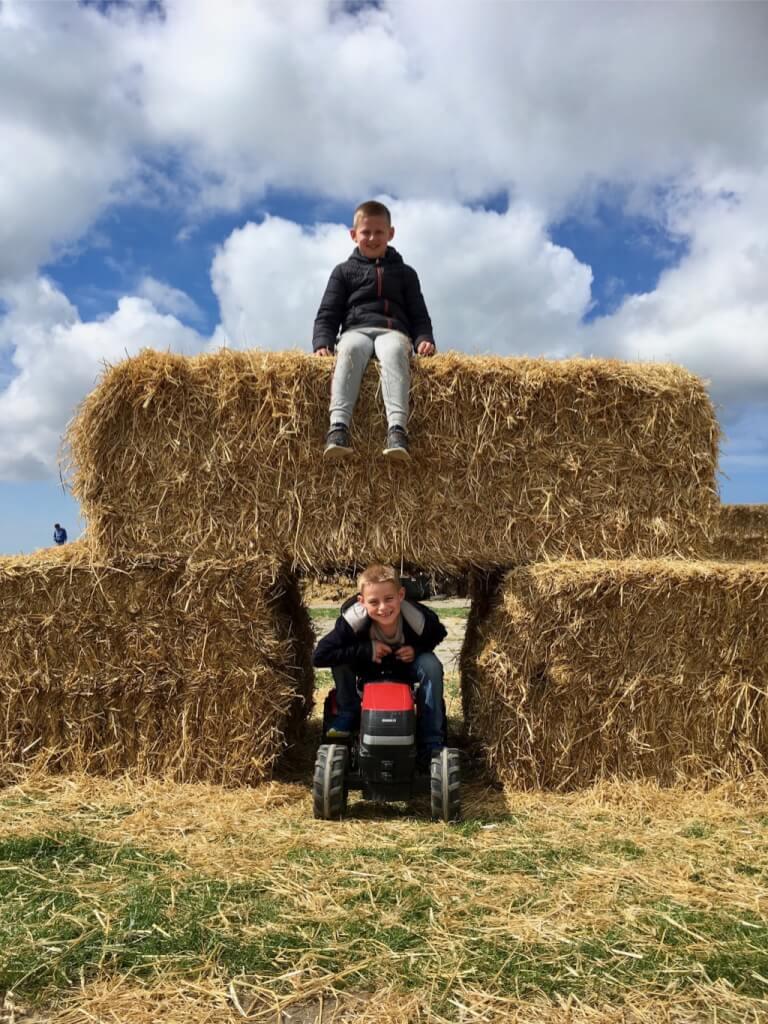 Texel - Fietsvakantie - Kinderen - Vaders op Reis - Schapenboerderij