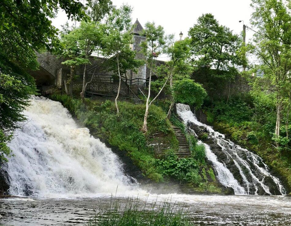 De watervallen van Coo in de Belgische Ardennen