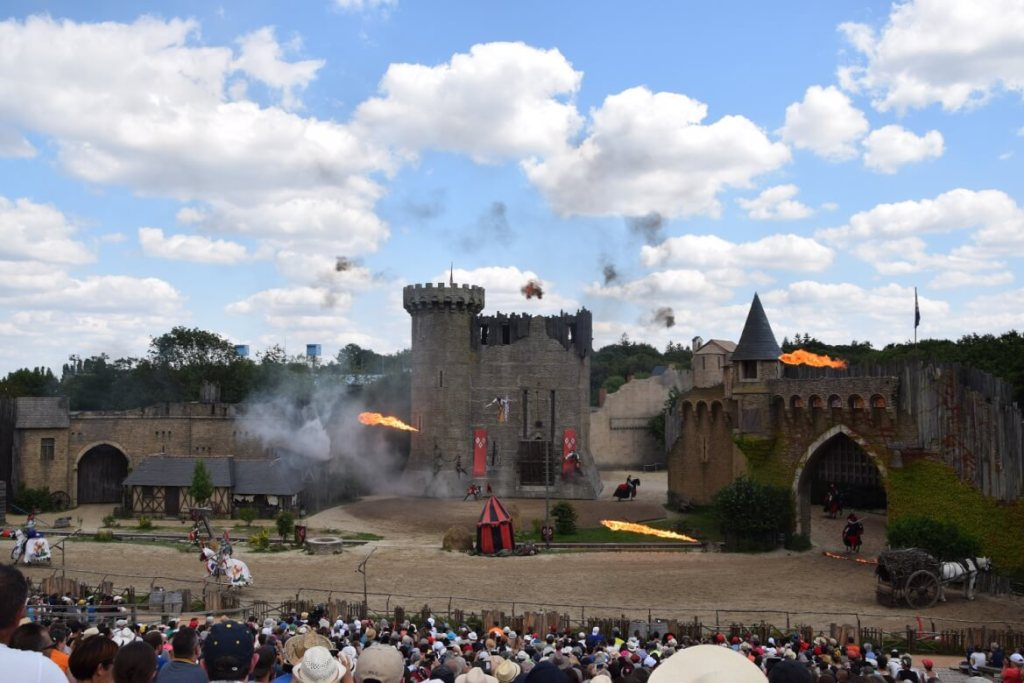 Le Secret de la Lance in Puy du Fou