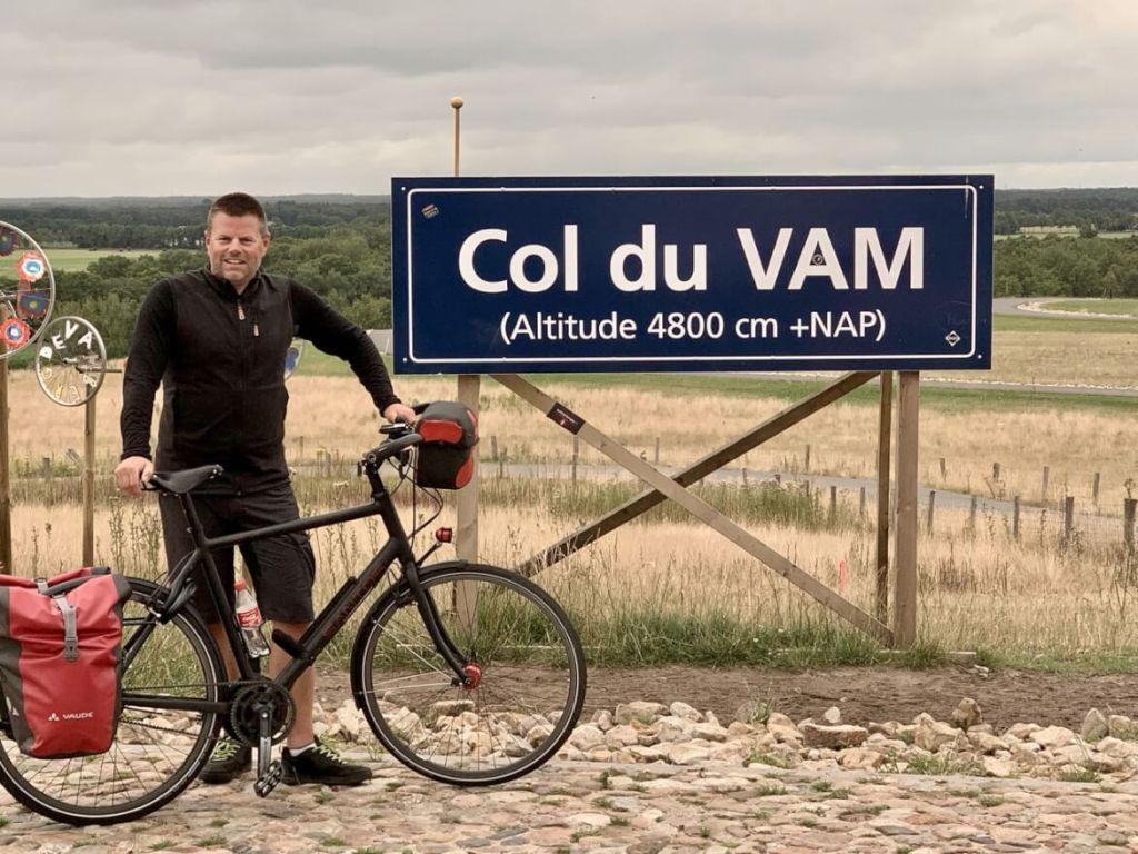 Vaders op Reis - Rondje Drenthe - Fietsvakantie - Col du Vam
