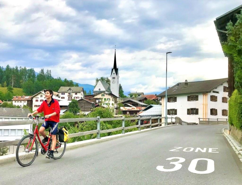 Valendas, Rhein-Route