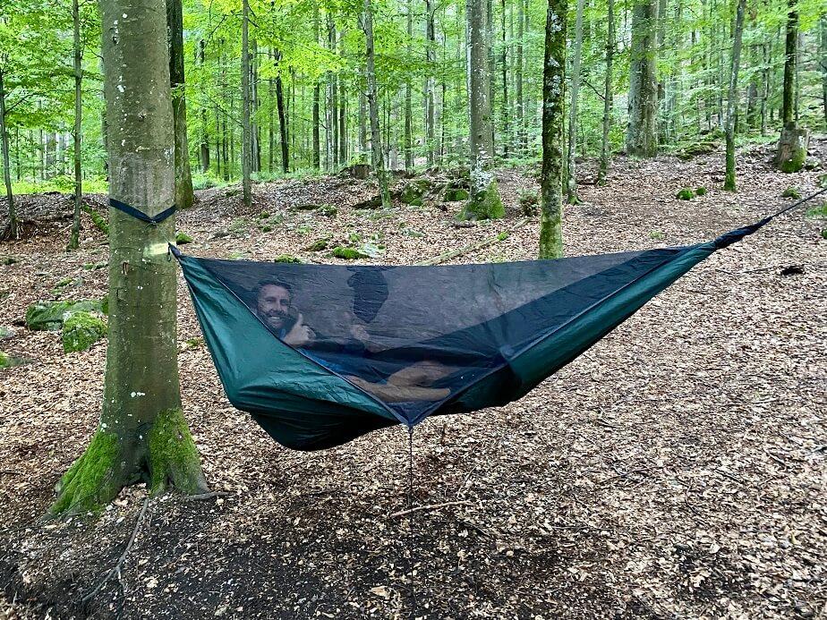 Slapen in het Zwarte Woud