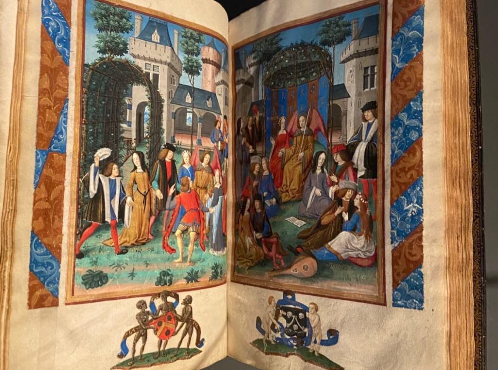 Een mooi manuscript van Roman de la Rose