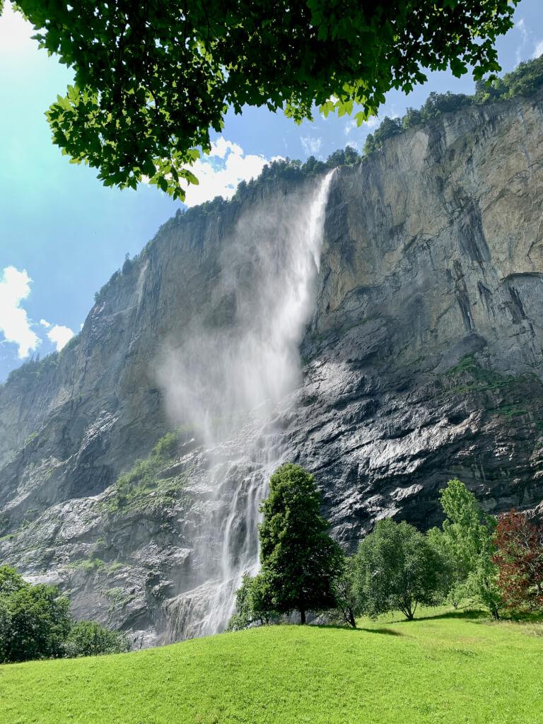 Tip - Waterval - Lauterbrunnen