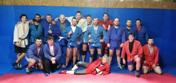 Sambo Group Training Class Glasgow Scotland