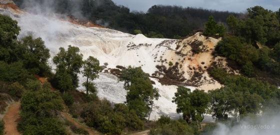 Escursione al Parco Geotermico delle Biancane da Sasso Pisano  vadoevedo