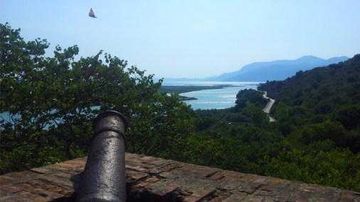 Viaggi e vacanze in Albania, Tour dell'Albania Comunista, Butrinti visuale dal castello