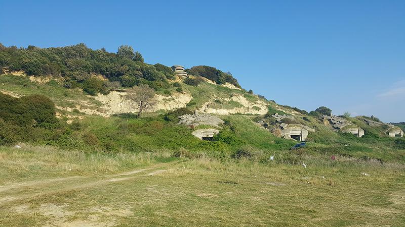 Itinerari di viaggio in Albania, Bunker a Kepi i Rodonit