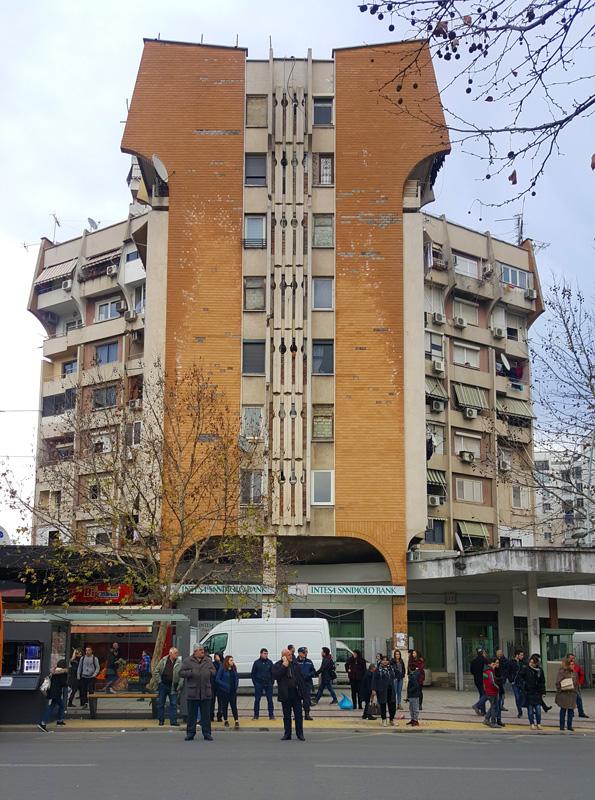 Investire in Albania, sede Banca Intesa Tirana
