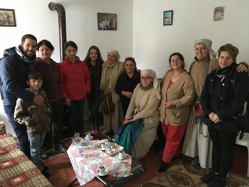 Volontariato in Albania, gruppo volontariato Albania momenti di volontariato