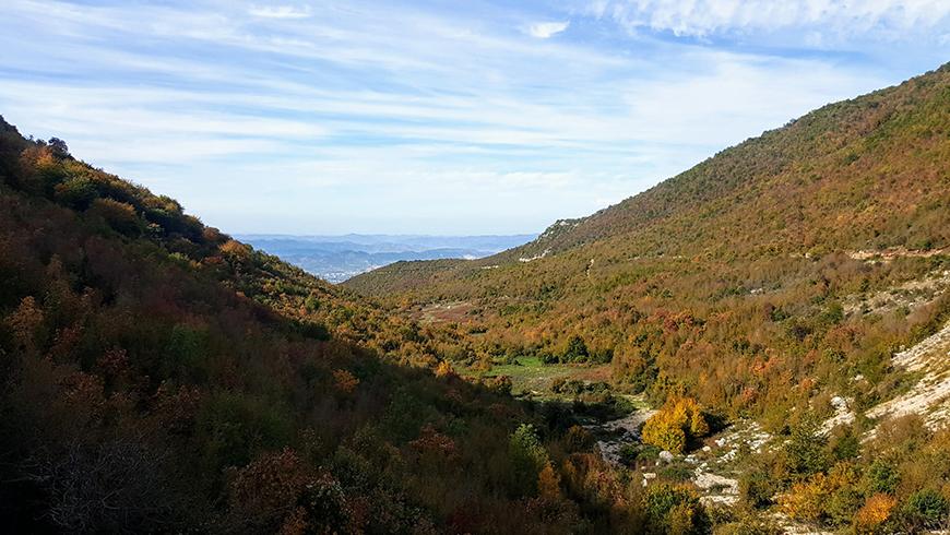 Autunno in Albania, foliage in Albania