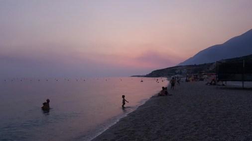 Vacanze in Albania con i bambini, Spiaggia di Ddrymades , andare in Albania con i bambini