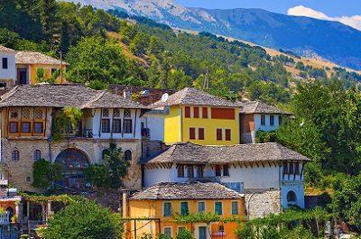 Gjirokastro, Argirocastro, case ottomane tour albania classica