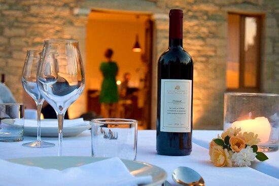 villa Pemet, Vino locale, vino biologico Permet