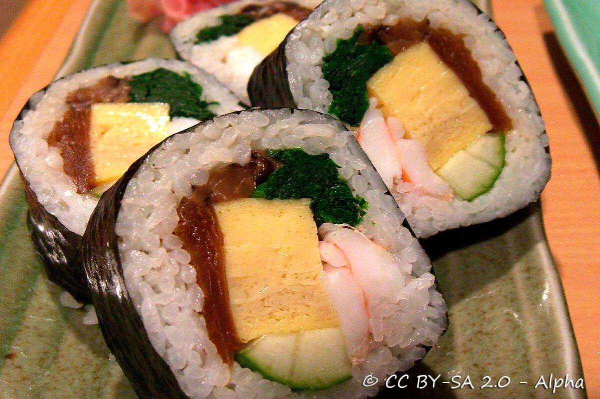 Sushi  Cibo e cucina giapponese  VadoInGiapponeit