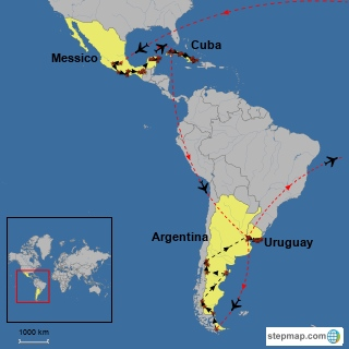 America Latina (2005-2006) con Kiki e Poppe - Globale