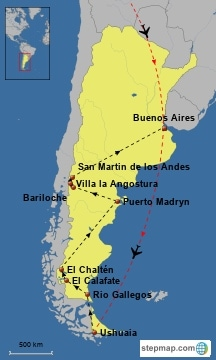 America Latina (2005-2006) con Kiki e Poppe - Argentina