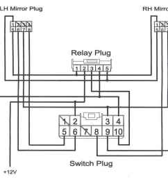 wiring diagram f250 folding mirrows wiring diagram expert ford power mirror switch wiring [ 1187 x 1022 Pixel ]