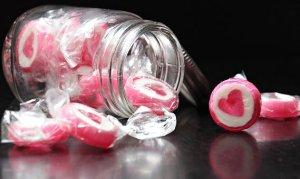 sweets in jar