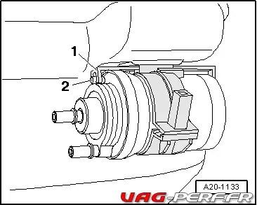 Le Filtre à Essence du moteur 2.5 TFSI des Audi TTRS et
