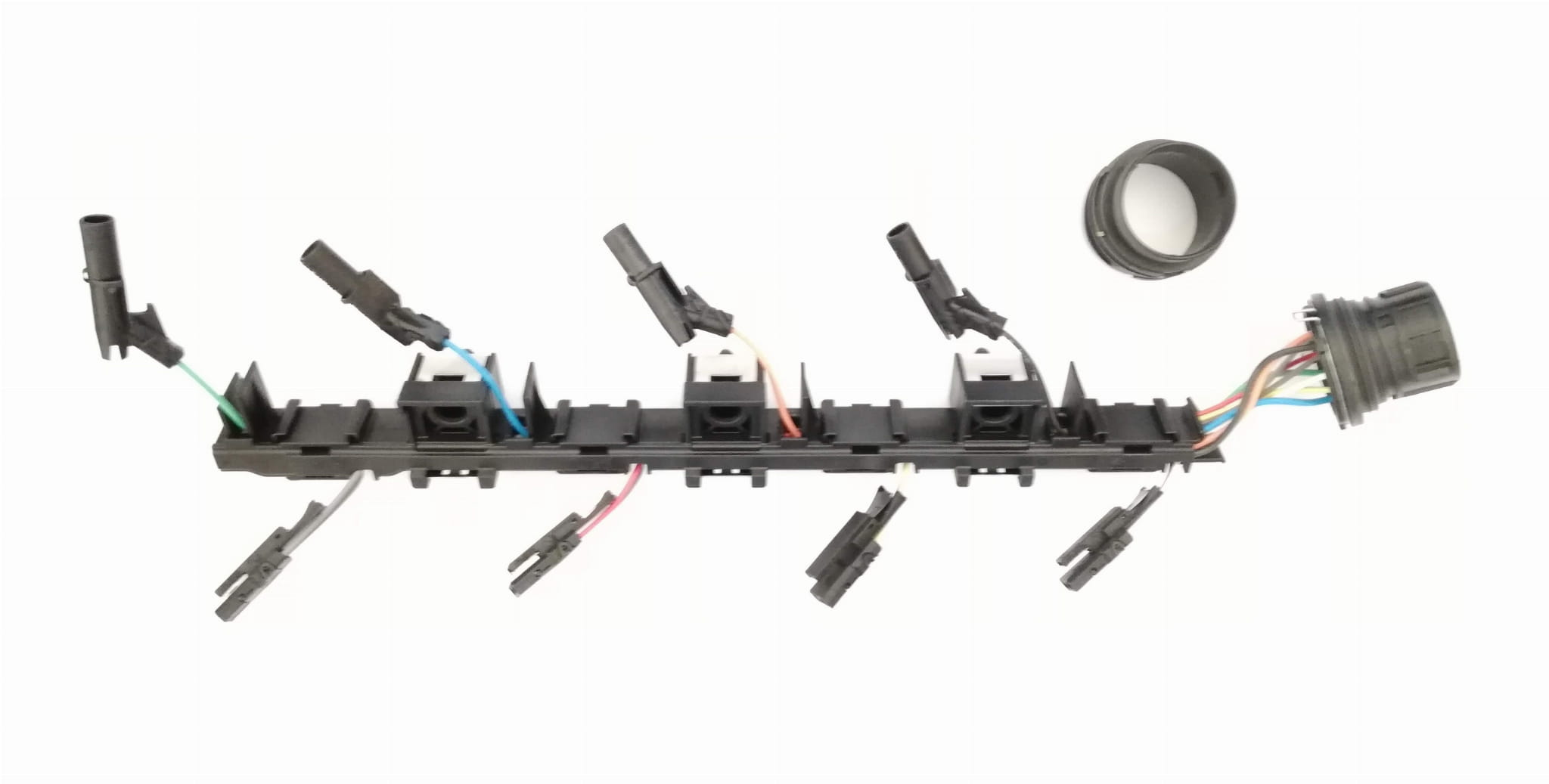 Injector wiring loom with glow plug connections 2.0 TDI