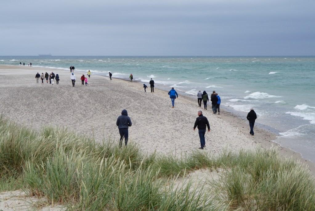 Kaksi merta kohtaa Tanskan Skagenissa