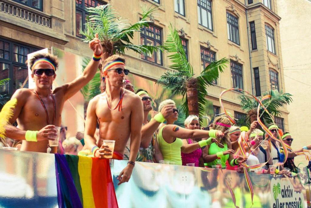 Hyvän mielen tapahtuma Copenhagen Pride