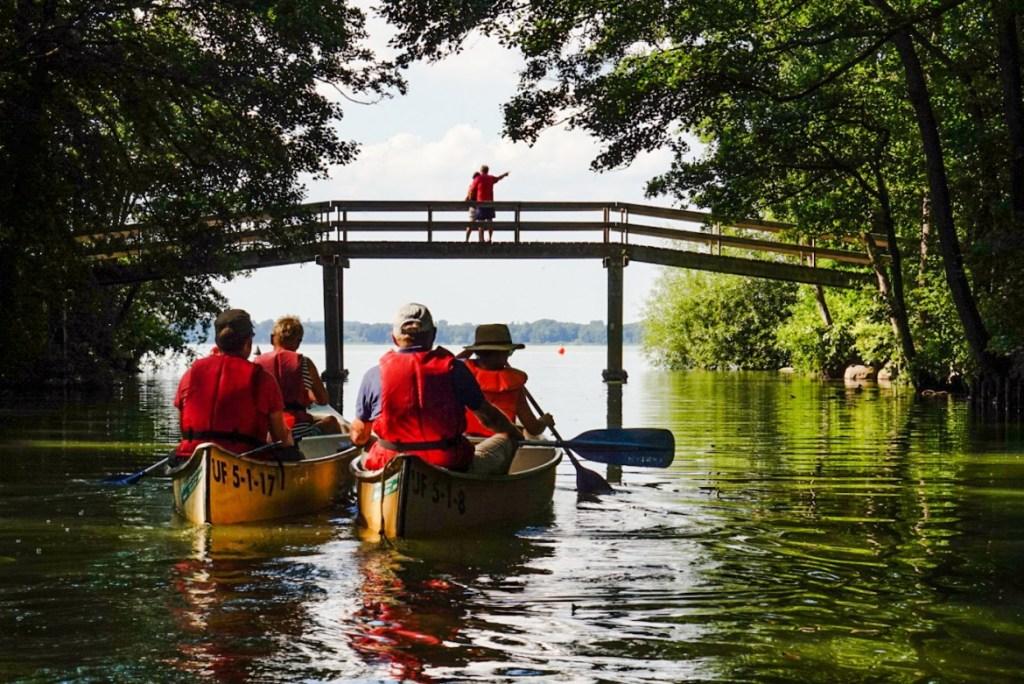 Yksi kesän ihanimmista päivistä: melontaretki Mølleåen-joella