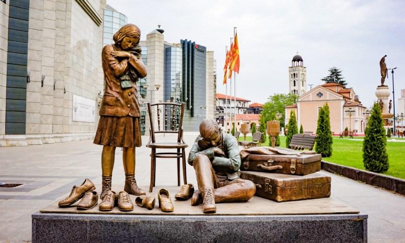 Skopje, Makedonian hämmentävä pääkaupunki - Gallery Slide #2