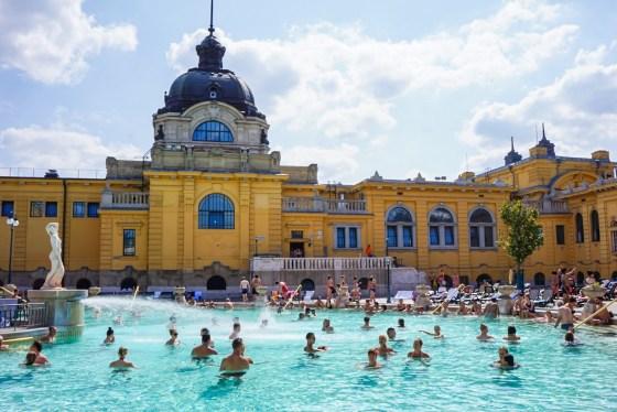 Szechenyin kylpylä, Budapest
