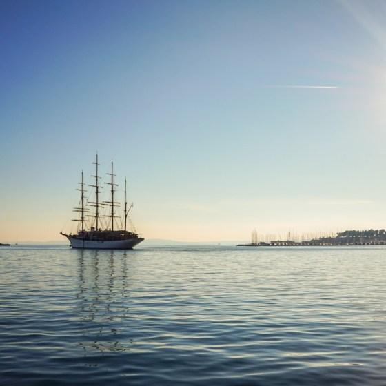 Päivä Splitissä