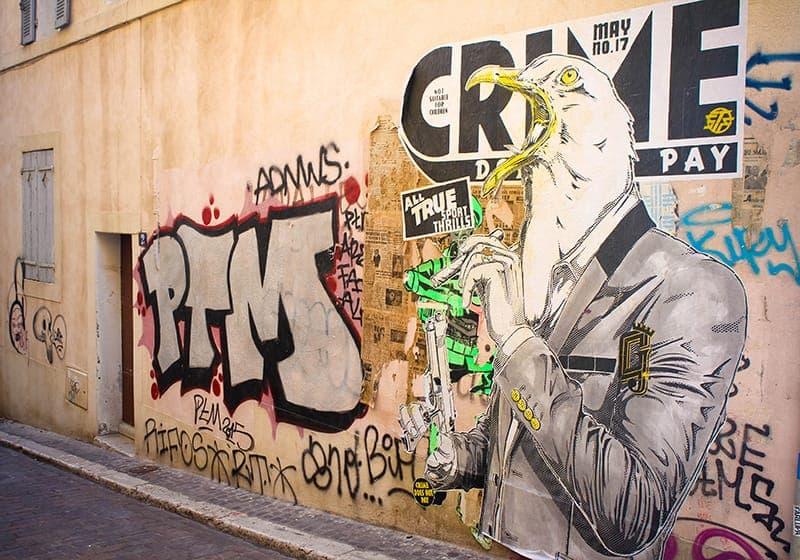 art urbain Marseille
