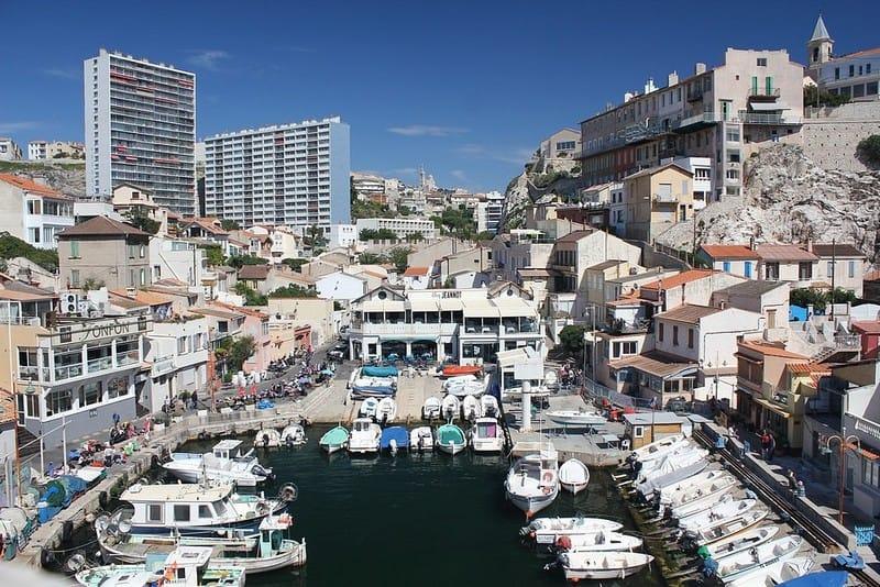 vallon des auffes Marseilles