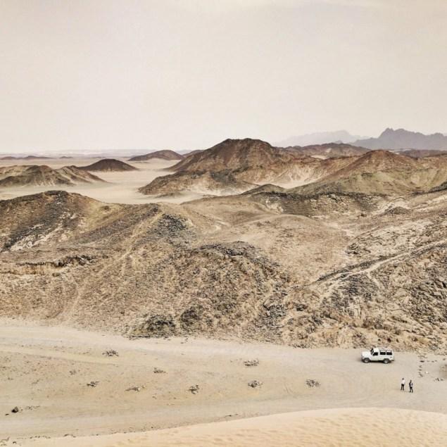 Desert hills near Hurghada, Egypt