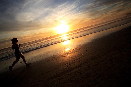Running Girl, Oceanside