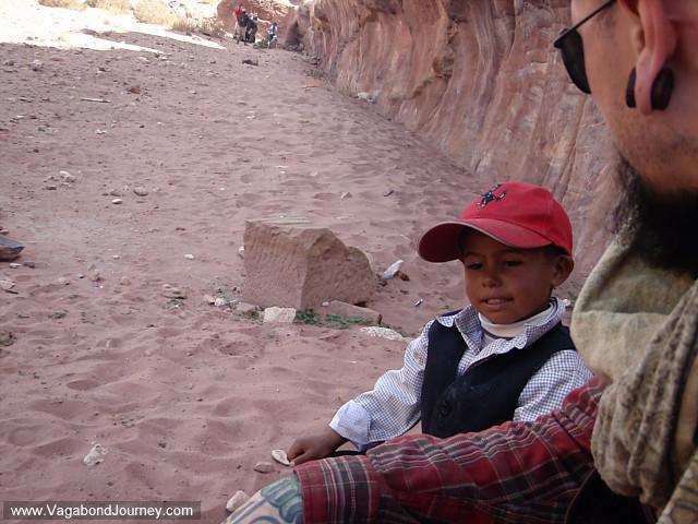 bedouin at petra