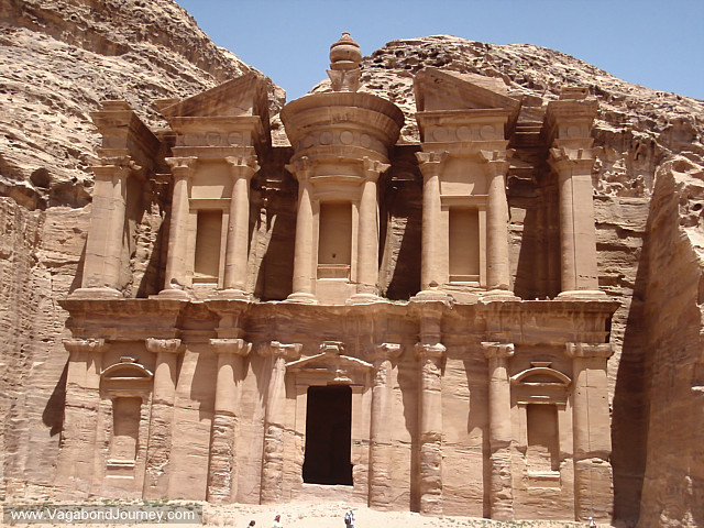 photo of petra monastery