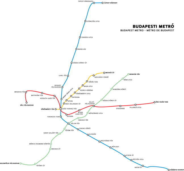 How to Use the Budapest Metro Subway