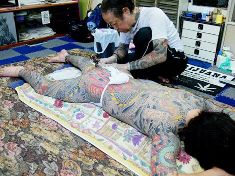 Irezumi Japanese Tattoo
